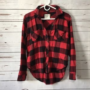 Abercrombie & Fitch buffalo plaid flannel